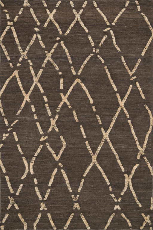 Loloi Adler AW-02 Turkish Coffee Wool Transitional Rug Main Image