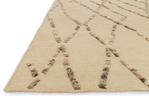 Loloi Adler AW-02 White Sand Wool Transitional Rug