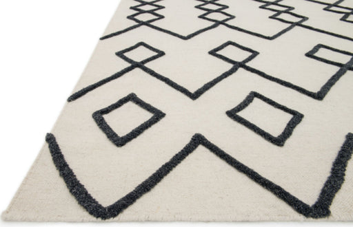 Loloi Adler AW-04 Ivory Wool Hilo Rug