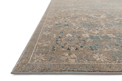 Loloi Century CQ-03 Bluestone Patterned Synthetic Rug