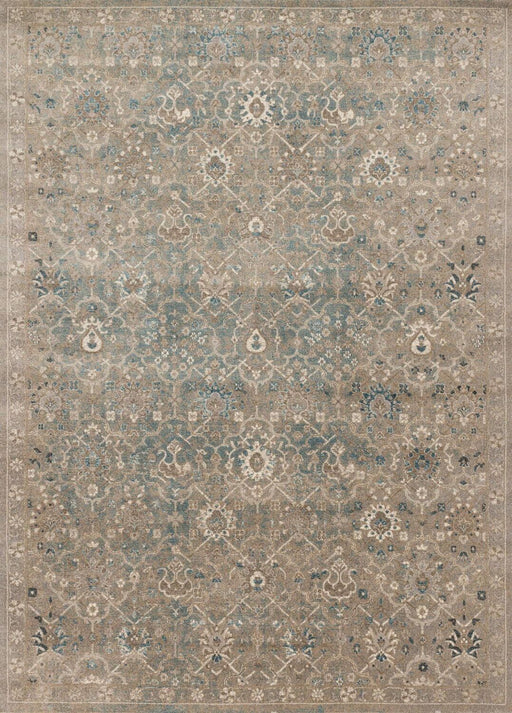 Loloi Century CQ-03 Bluestone Patterned Synthetic Rug Main Image