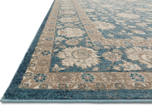 Loloi Century CQ-04 Blue Synthetic Traditional Rug