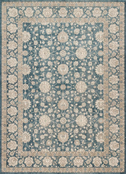Loloi Century CQ-04 Blue Synthetic Traditional Rug Main Image