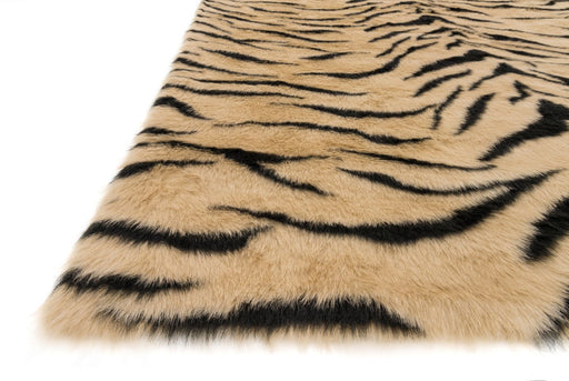 Loloi Danso Shag DA-03 Tiger Animal Print Patterned Rug