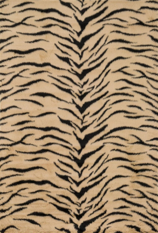 Loloi Danso Shag DA-03 Tiger Animal Print Patterned Rug Main Image