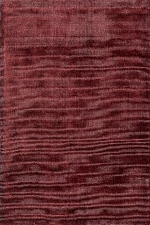 Loloi Loloi Luxe LX-01 Ruby Silk Striped Rug Main Image