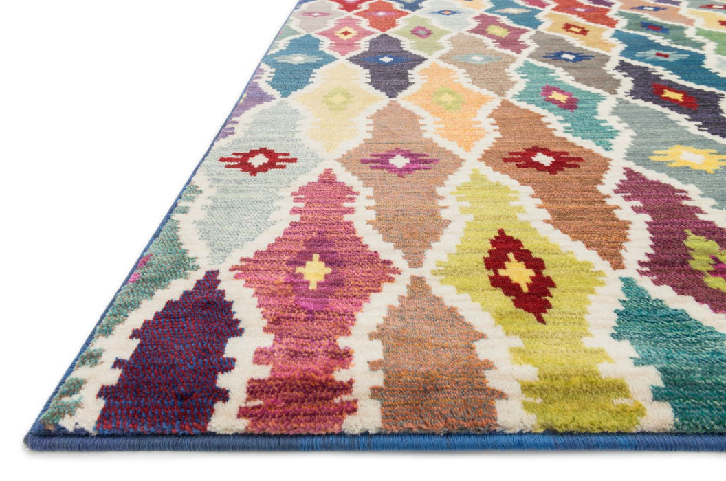 Loloi Lyon HLZ12 Power Loomed Polypropylene Rug