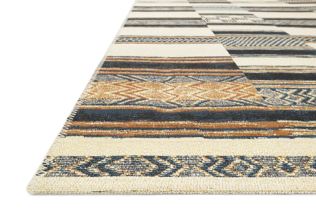 Loloi Mika MIK-04 Power Loomed Synthetic Rug