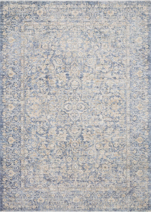 Loloi Pandora PAN-01 Blue/Gold Synthetic Traditional Rug Main Image