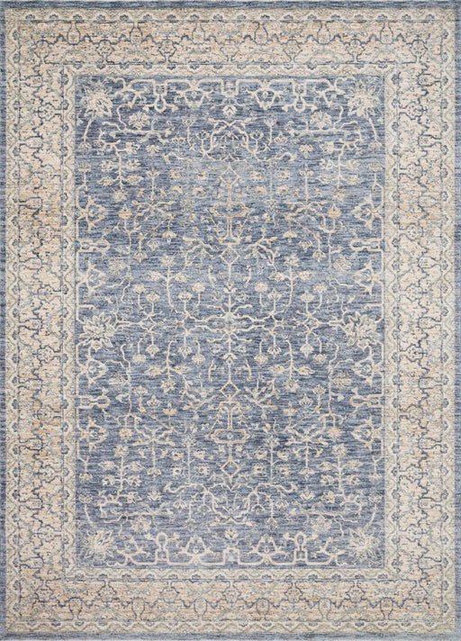 Loloi Pandora PAN-04 DarkBlue/Ivory Traditional Synthetic Rug Main Image