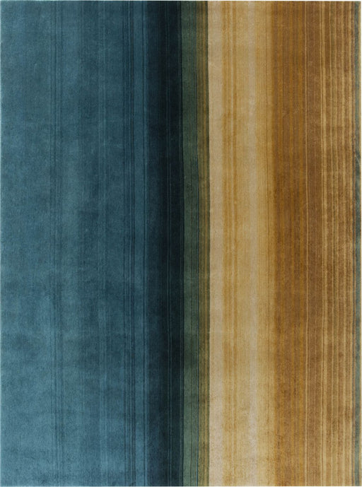 Gandia Blasco Multi-Colored Hand Knotted Paysages Rug Main Image