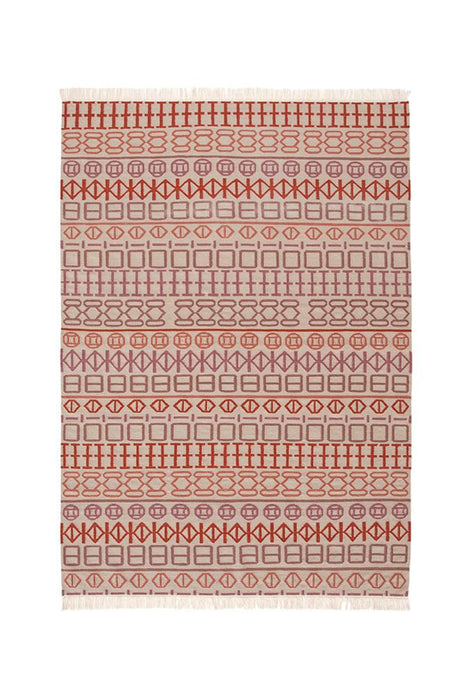 Gandia Blasco Orange Kilim Naidu Rug Main Image