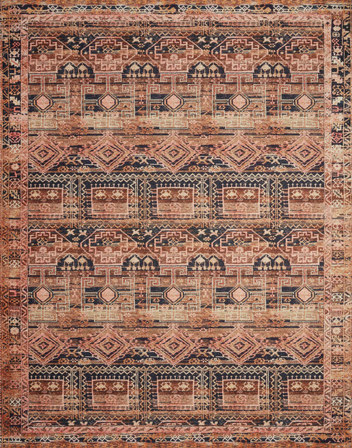 Loloi Layla LAY-14 Mocha / Blush Traditional Rug