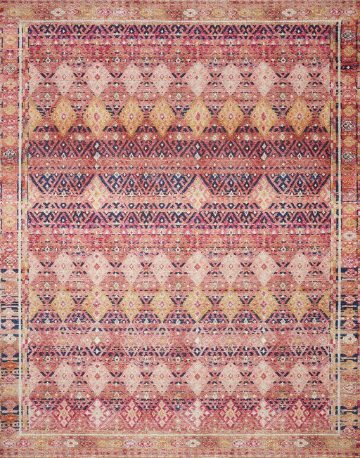 Loloi Layla LAY-15 Magenta / Multi Traditional Rug