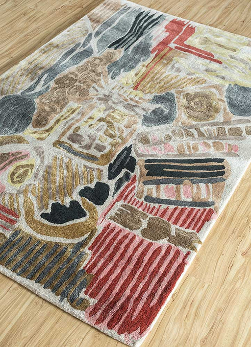 "Hiren Patel x Jaipur Rugs ""Coffee in Bali"" Reminiscence Rug"
