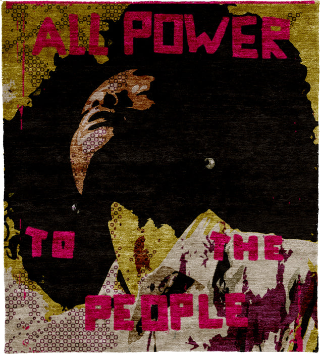 All Power A Hand Knotted Tibetan Rug Main Image