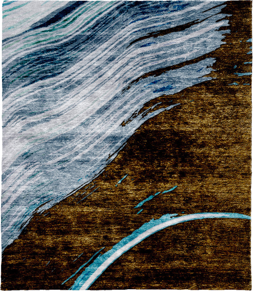 Windflower A Hand Knotted Tibetan Rug Main Image