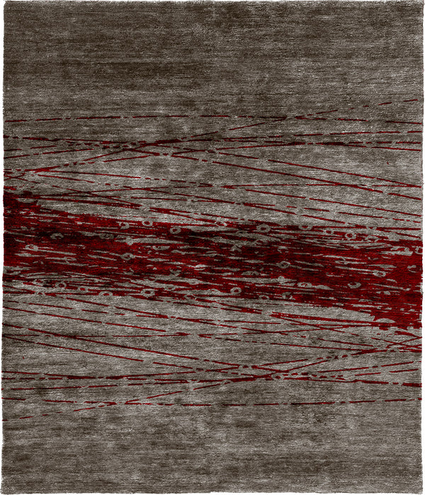 Intersectance A Hand Knotted Tibetan Rug Main Image