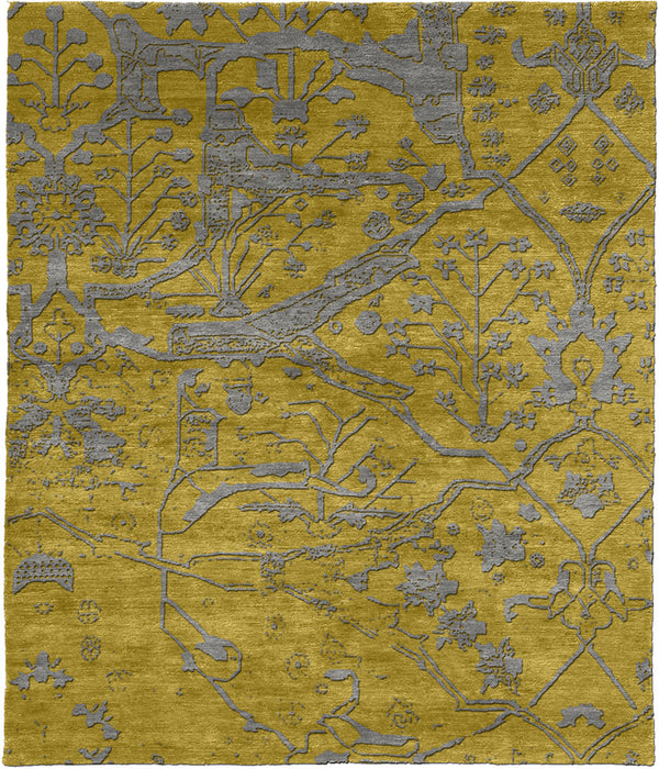 Concerto Hand Knotted Tibetan Rug Main Image