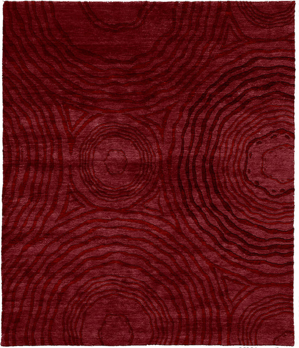 October Sky B Hand Knotted Tibetan Rug Main Image