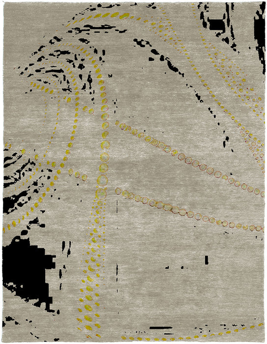 Cosmic Hand Knotted Tibetan Rug Main Image