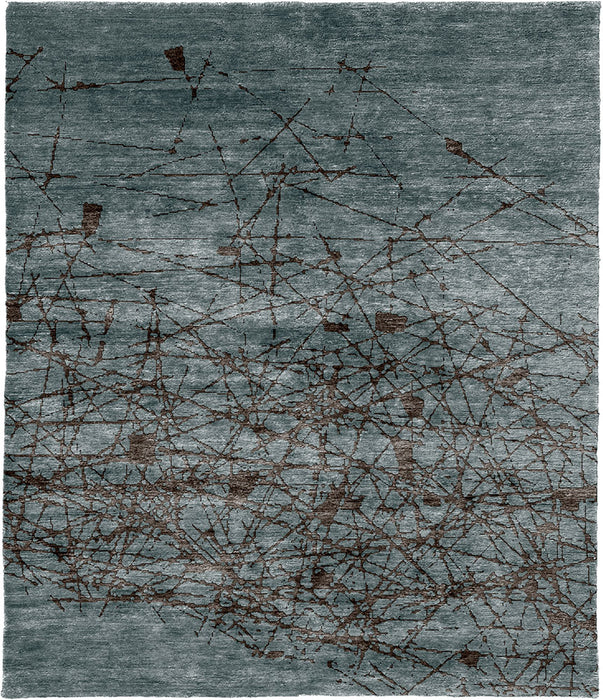 Willow B Hand Knotted Tibetan Rug Main Image