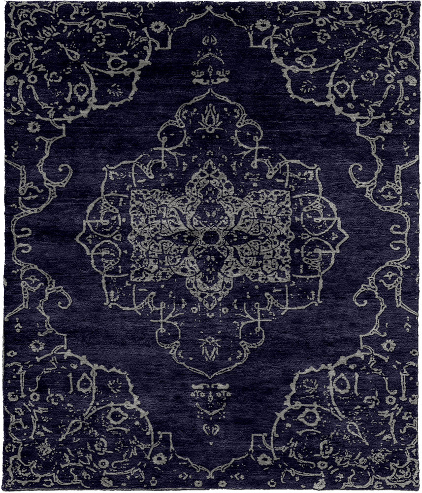 Permian C Hand Knotted Tibetan Rug Main Image