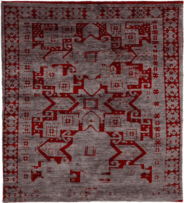 Hachloo B Hand Knotted Tibetan Rug Main Image