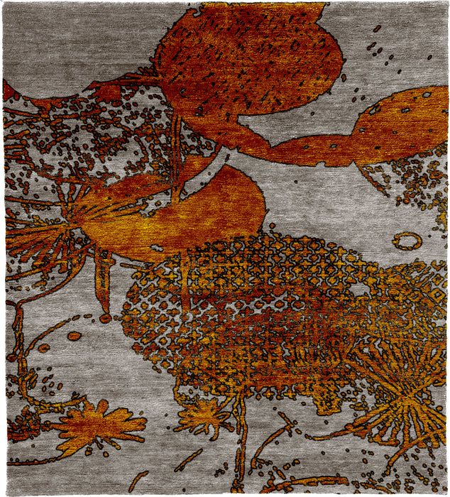 Kneeling A Hand Knotted Tibetan Rug Main Image