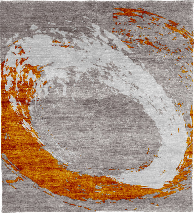 Interaction A Hand Knotted Tibetan Rug Main Image