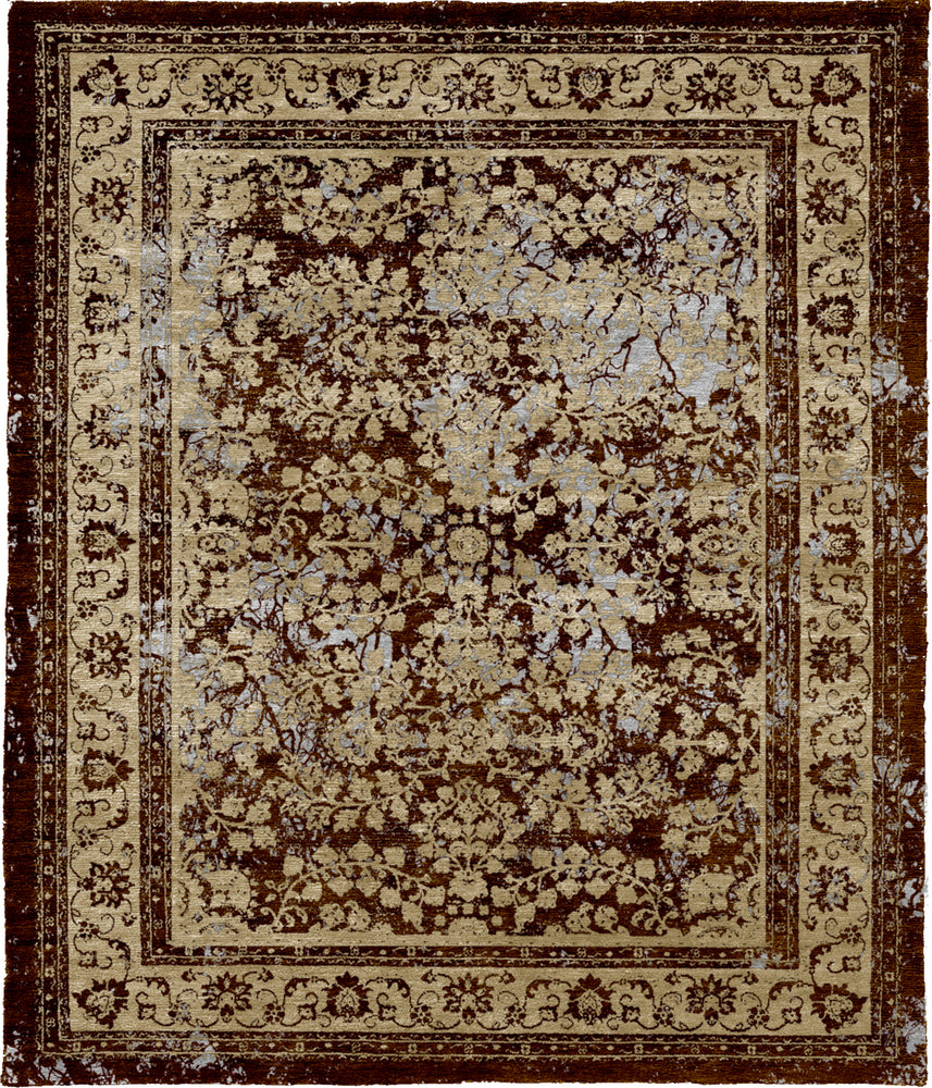 Kashan Night Hand Knotted Tibetan Rug Main Image