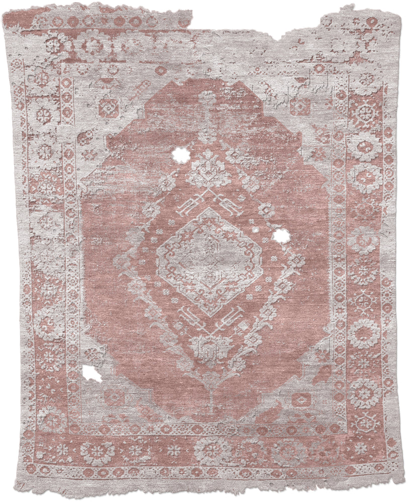 Vintage A Hand Knotted Tibetan Rug Main Image