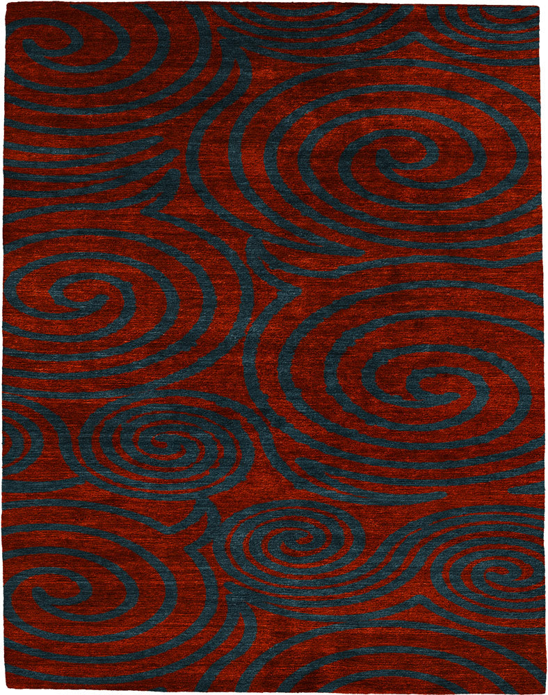 Cleveland Hand Knotted Tibetan Rug Main Image