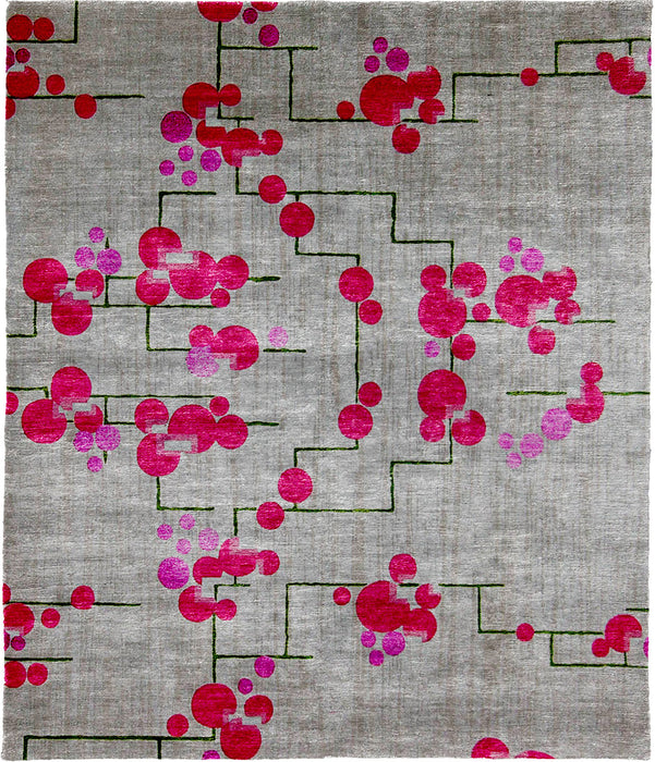 Tulip Hand Knotted Tibetan Rug Main Image