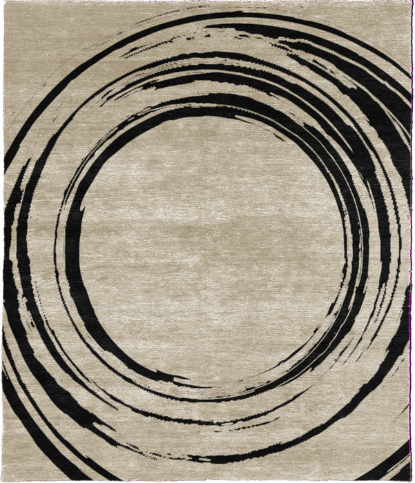 Cacoxenite B Hand Knotted Tibetan Rug Main Image