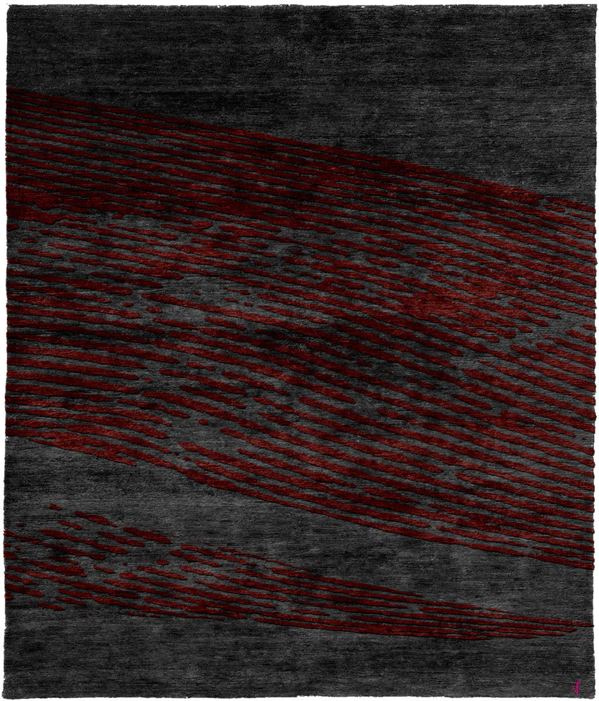 Silent A Hand Knotted Tibetan Rug Main Image