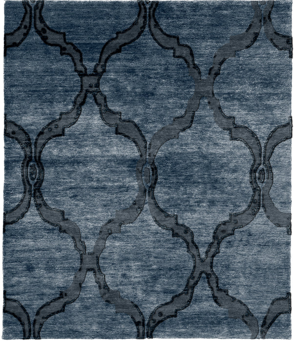 Abstract A Hand Knotted Tibetan Rug Main Image