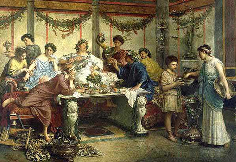 Banquet during Ancient Rome