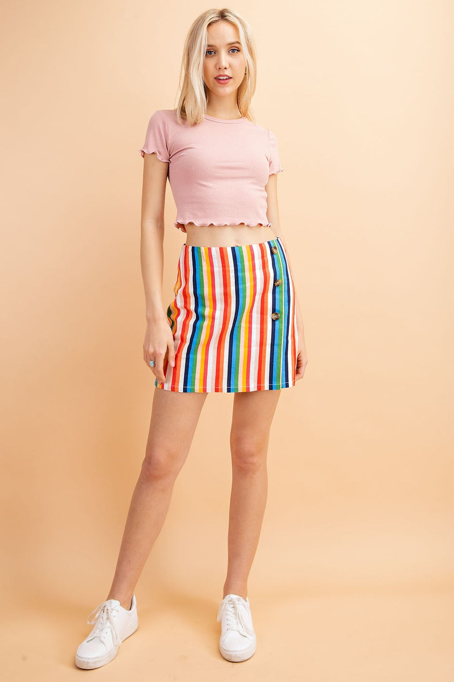 Short Sleeve Crop Top - Siin Bees