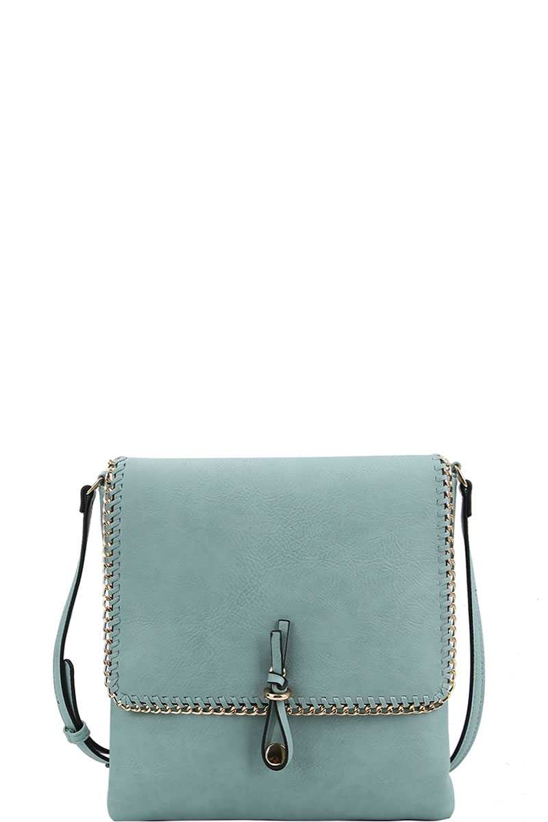 Designer Trendy Chained Crossbody Bag Siin Bees