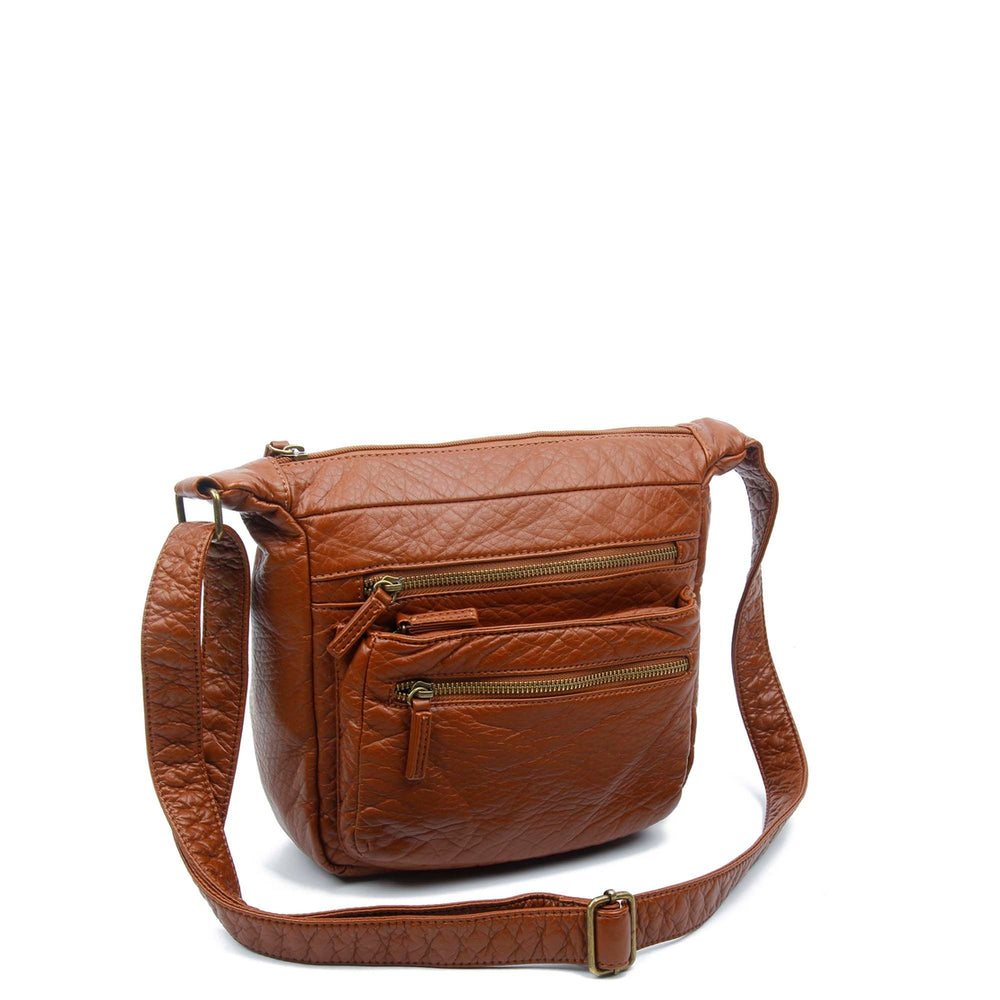 Signature Soft Vegan Leather Crossbody Bag Siin Bees