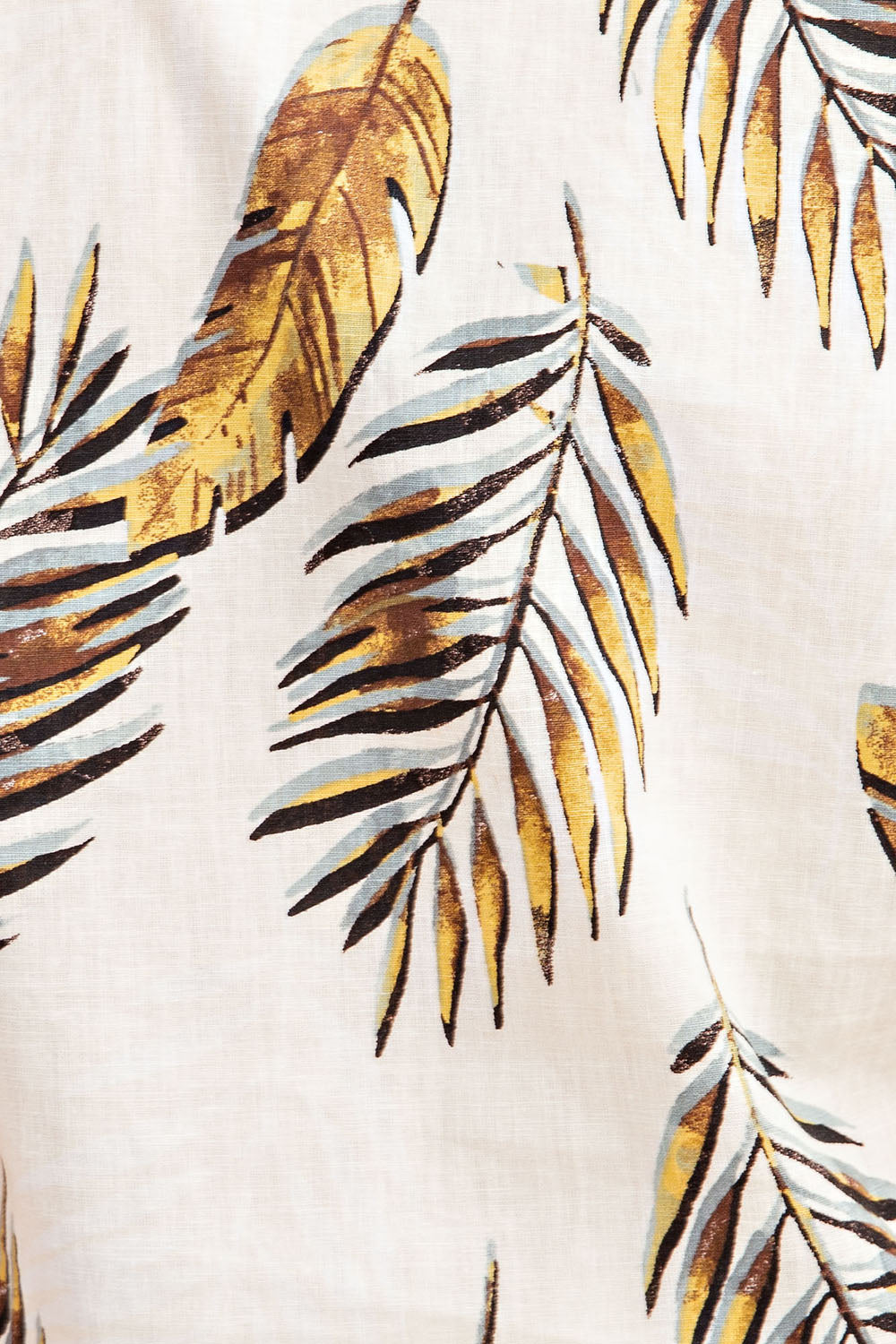 Short Sleeve Tree Shirts With Linen Palm - Siin Bees