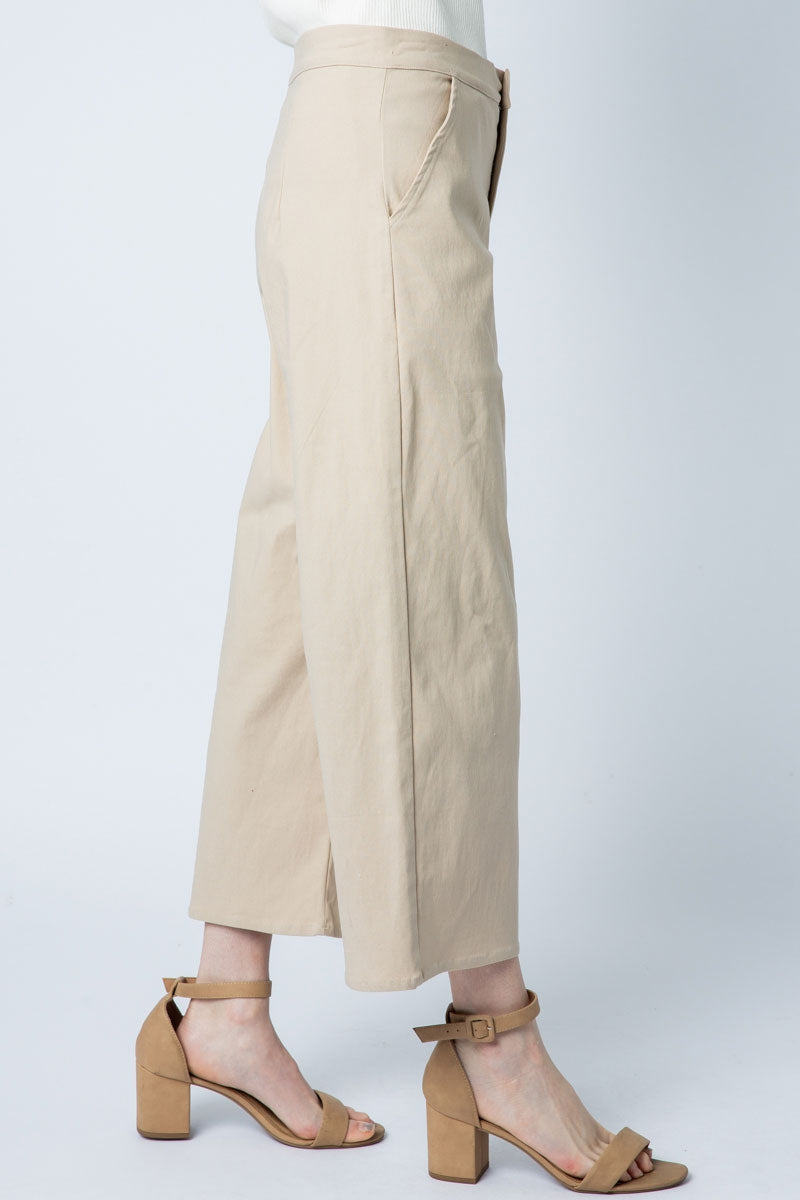Office Trouser Wide Leg With Straight Pocket Siin Bees
