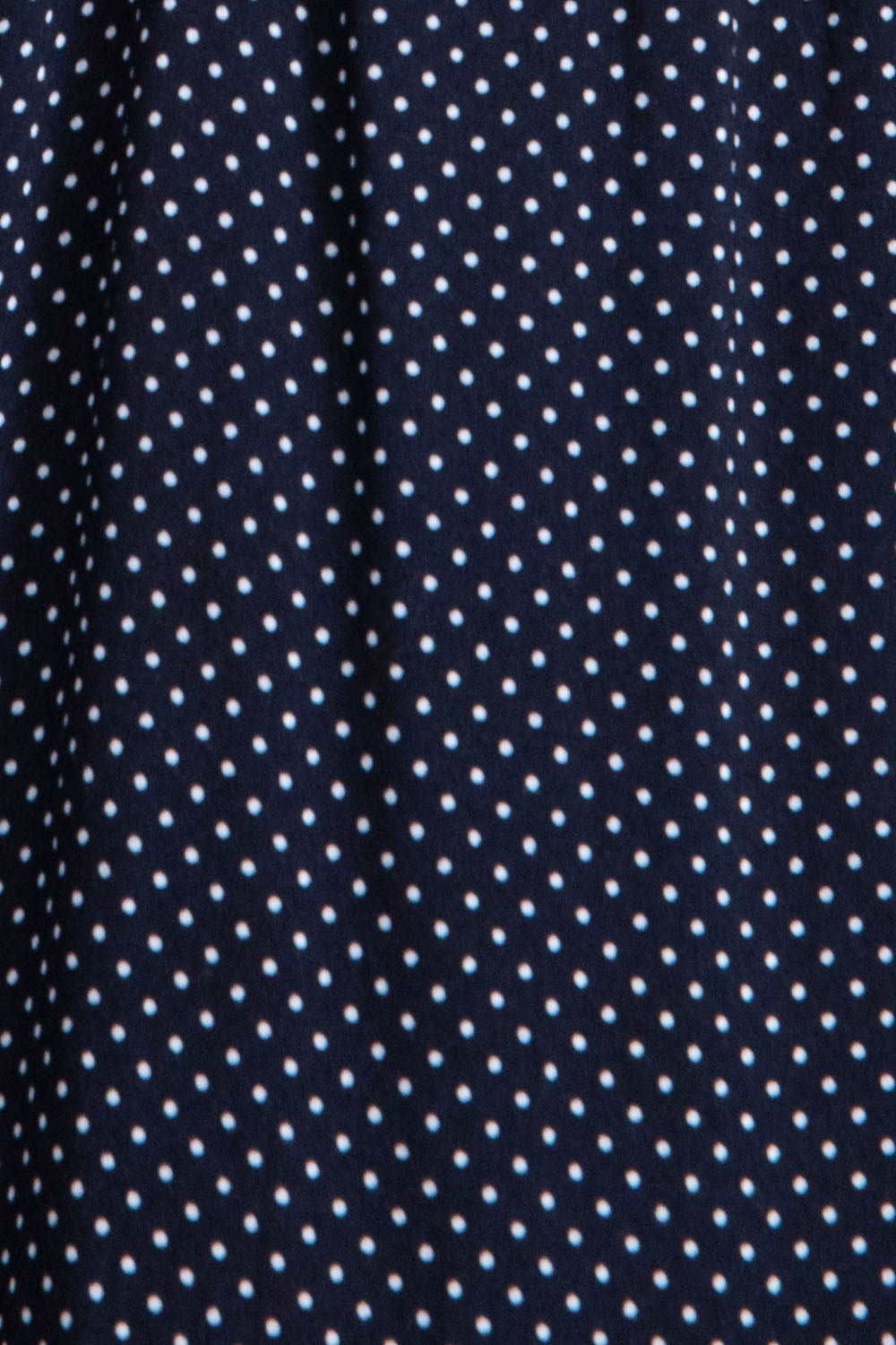 Long Sleeve Polka Dot Dress In Navy Siin Bees