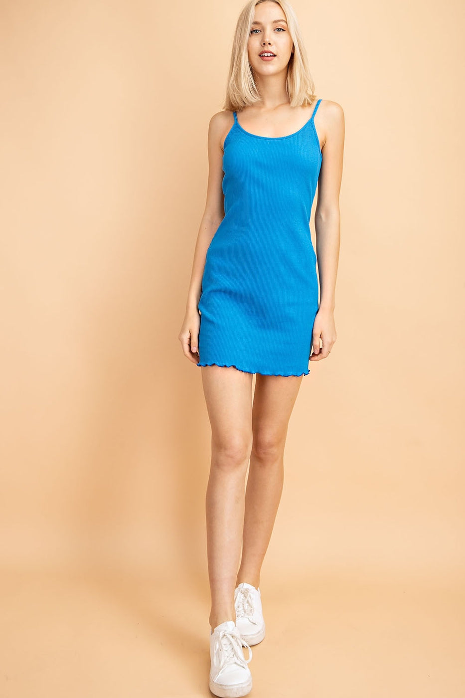 Lucy Mini Dress With Sleeveless Bodycon - Siin Bees