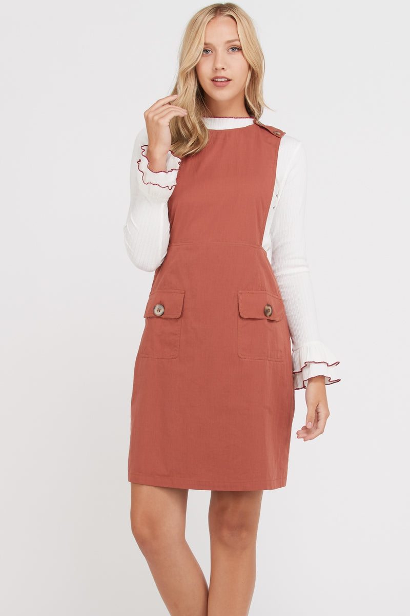 Celine Overall Dress Siin Bees