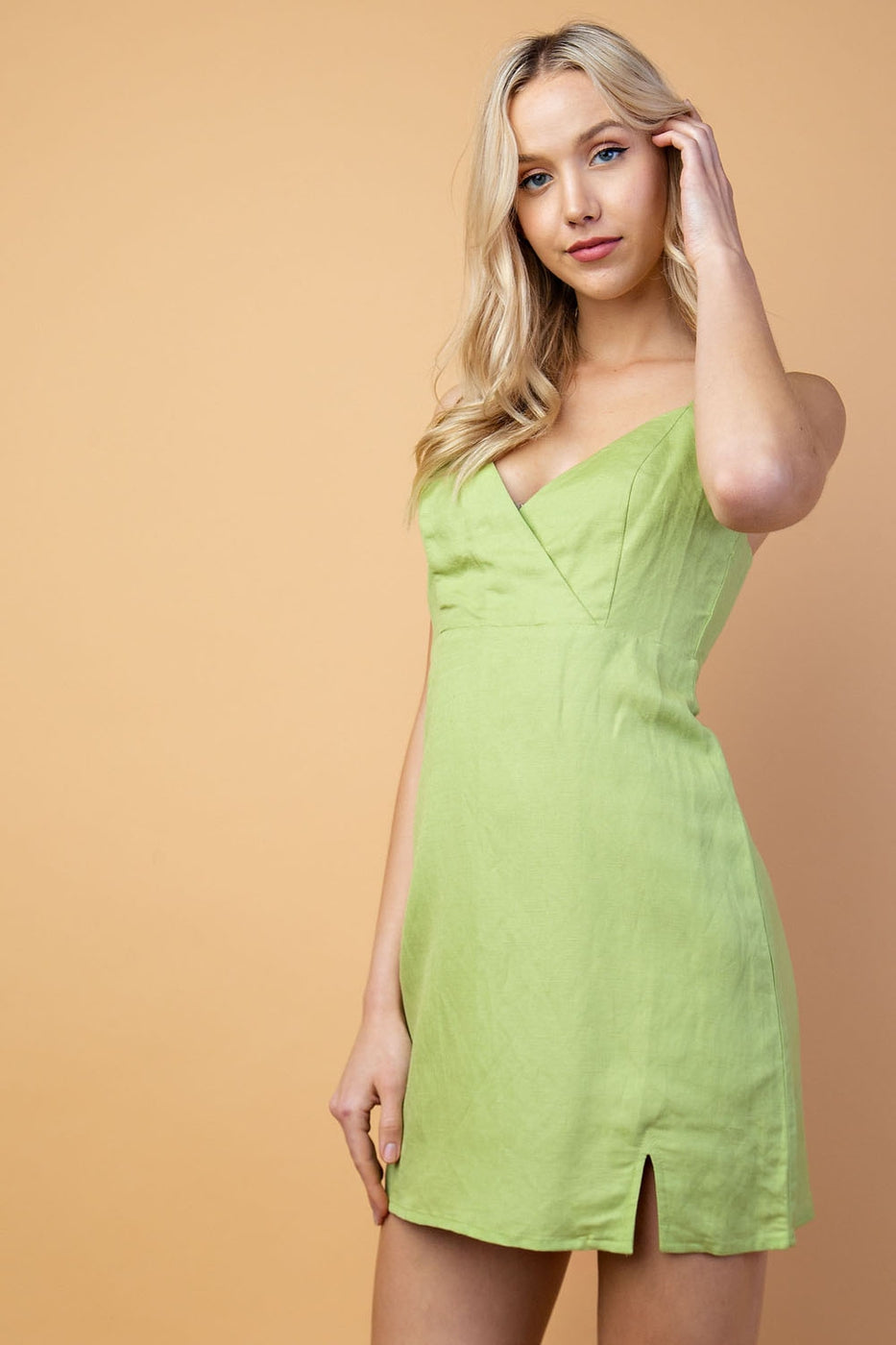 Linen Dress - Siin Bees