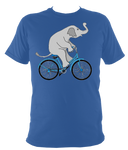 Kids Elephant On A Bike T-shirt - Awesome Bike Gifts - Bike Essentials Accessories And T-shirts