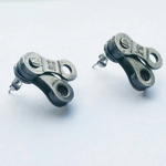 Bicycle Chain Earrings