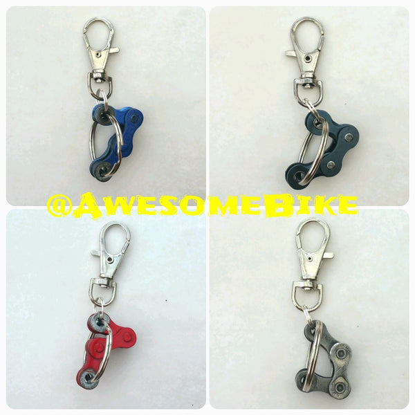 Fun Bicycle Chain Keyring